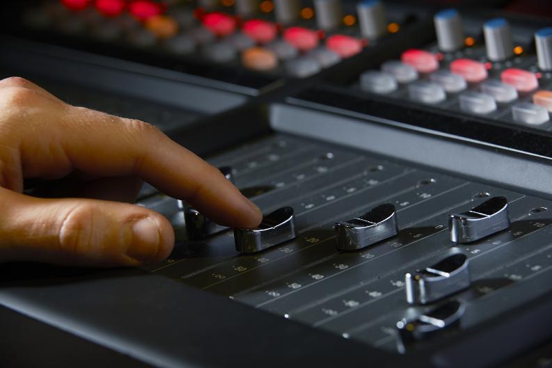 Opnamestudio - opname - studio - radiocommercial
